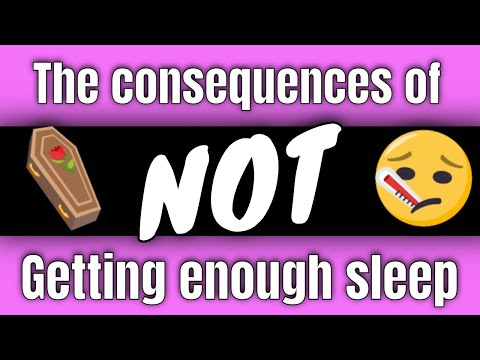 Consequences of NOT getting enough sleep | PE Buddy