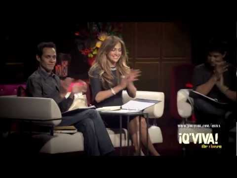 Jennifer Lopez & Marc Anthony in ¡Q'Viva! The Chosen - The B