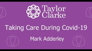 Mark Adderley, Taking Care