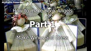 Gambar cover Yoko's Art Class - Making Recycled Book Angels Video Tutorial PART 1