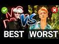 BEST VS WORST RAPS IN KPOP BOY GROUPS MV   My Opinion