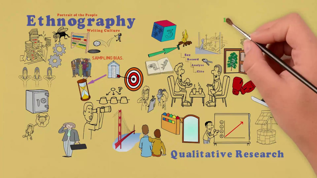 ethnography The term ethnography has come to be equated with virtually any qualitative research project where the intent is to provide a detailed, in-depth description of everyday life and practice.