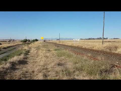 South African Railways Cement Train Melish 28 Dec 2017