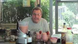 DAD CAN COOK,MIXOLOGY BOOT CAMP, STRAWBERRIY BANANA DAIQUIRI SEASON 4