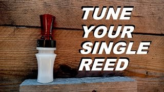 Gambar cover HOW TO Clean and Tune a Duck Call (Single Reed)