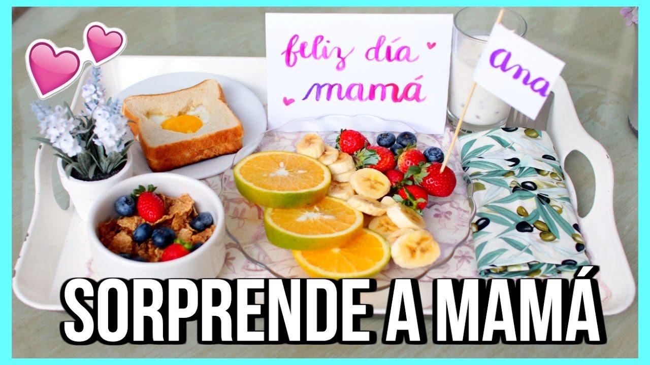 DESAYUNO PARA MAMÁ 🌸 Hazla sentir especial!! |Valeria Basurco