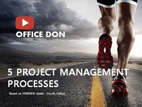 5 PROJECT MANAGEMENT PROCESSES - Based on PMBOK® Guide