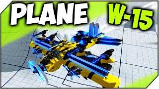 ROBOCRAFT W-15 Annihilation Plane # 300 ➤ САМОЛЕТ БОМБАРДИРОВЩИК