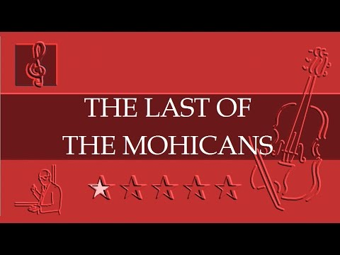 Promentory - The Last of the Mohicans Theme (Sheet music - Guitar chords - TAB)