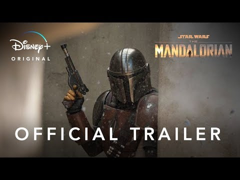 Pedro Pascal in The Mandalorian trailer op Disney+
