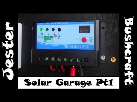 Simple DIY Home Solar Project – Off Grid Garage – Part 1