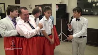 Смешной эротический конкурс на свадьбе, юбилей или день рождения «Семейные трусы». Видео 9 из 23