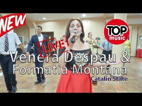 Venera Despau Gogan si Formatia Montana - LIVE - Colaj - Hore si Sarbe - Nunta * NOU *