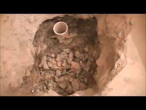 Concrete Foundation Drain for Shower