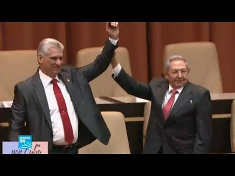 كوبا: انتخاب ميغيل دياز كانيل رئيسا للبلاد خلفا لراؤول كاسترو
