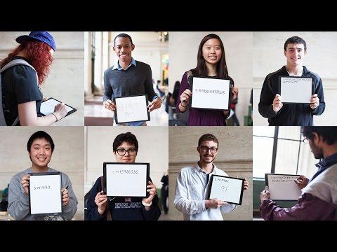 MIT Students Write Pi