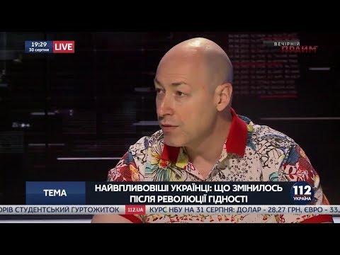 Дмитрий Гордон: Гордон: На минских переговорах Путин кричал Порошенко: