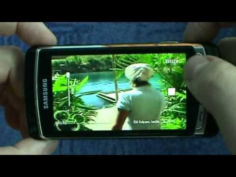 Mobiltévé / Mobile TV on SAMSUNG I8910 HD