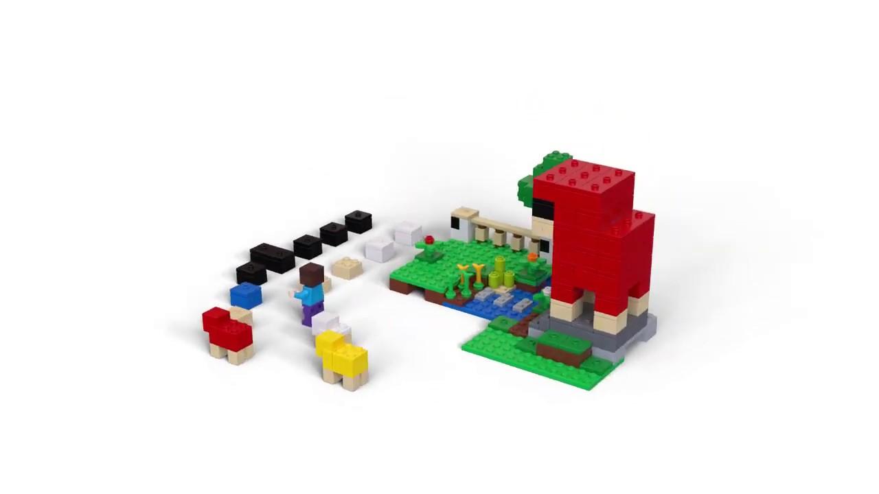 LEGO MINECRAFT 21153 LA FATTORIA DELLA LANA
