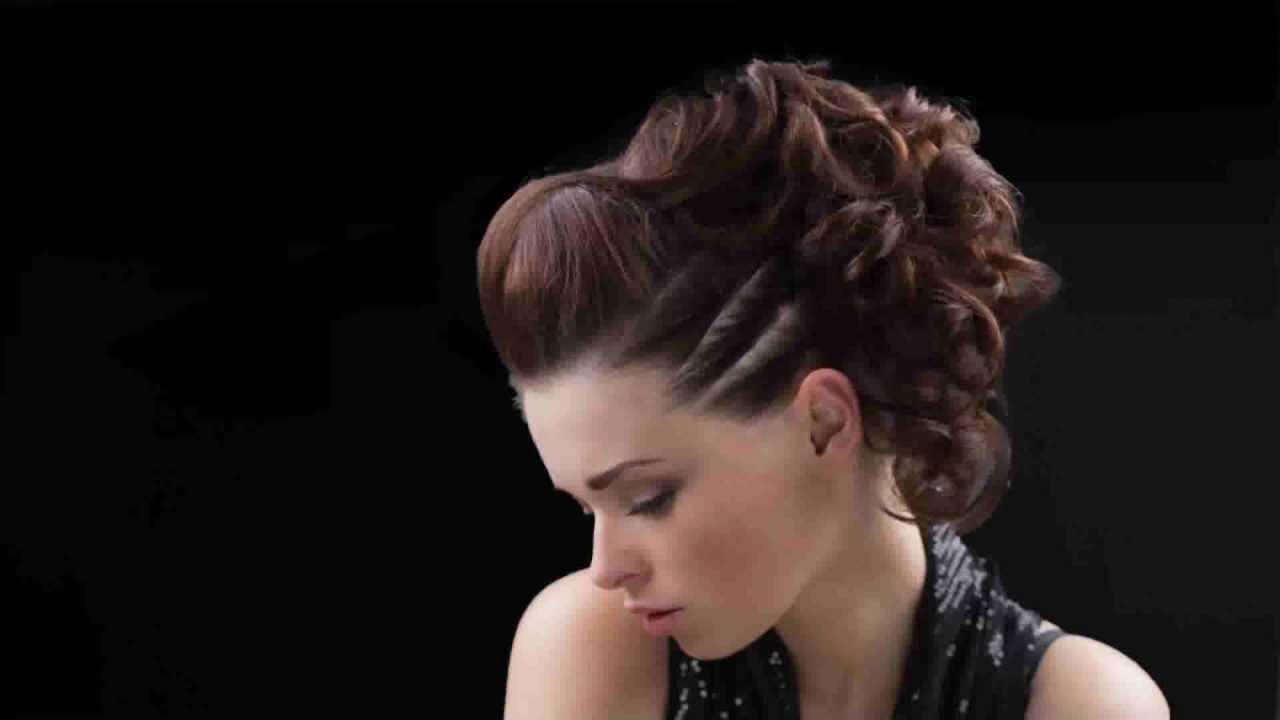 Step4haircom Nowoczesne Upięcie Włosów