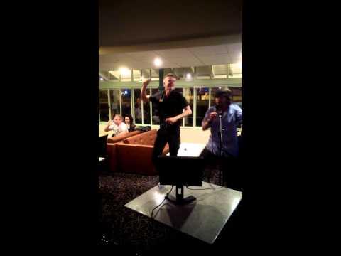 Pavilion Bar, Ryde. Karaoke night