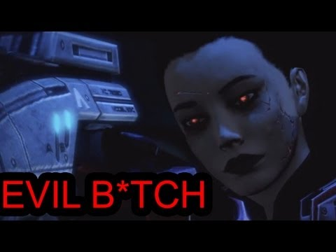 Mass Effect 3: Femshep's Dark Side(Evilyn Shepard)