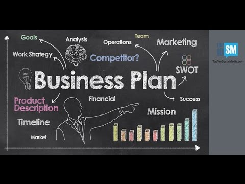 Simple Business Plan Template Free Word Youtube