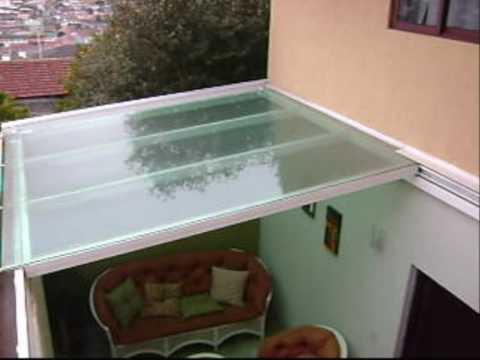 Inprometal cobertura retr til 1302 x 03 youtube for Modelos de techos para terrazas