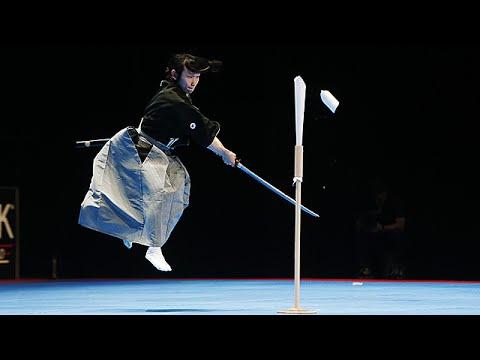 Le sabre japonais tenshin ryu au 30e festival des arts for Art martiaux