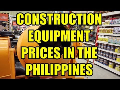 Construction Equipment Prices In The Philippines.