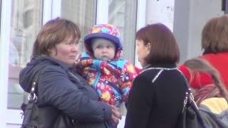 Лесосибирск конечная остановка улица победы 20 сентября 2013 год