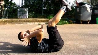 Tutoriel - Cascade - se relever façon Jackie Chan ( Saut carper / Kick Up)