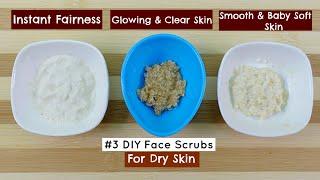 #3 Best Homemade Face Scrub for Dry Skin | DIY Skin Care