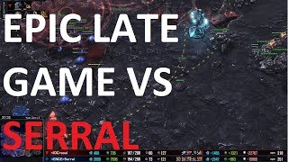 Starcraft 2 - LATEGAME VS SERRAL! - TvZ - souL vs Serral on Year Zero