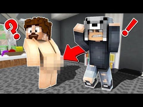 FAKİR EVİME ÇIPLAK GELDİ! 😱 - Minecraft thumbnail