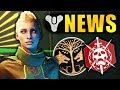 Destiny 2 News: EVERVERSE CHANGES! Next Iron Banner & Faction Rally! Raid Changes & More!