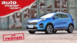 Kia Sportage 2.0 CRDi: Erfolgs-SUV auf dem richtigen Diesel-Weg? - Test/Review | auto motor & sport
