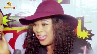 Sola Sobowale Papa Ajasco Afeez Oyetoro attend Movie Premiere KnockOut