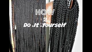 HOW TO PRETWIST YARN | DO IT YOURSELF  | DIY