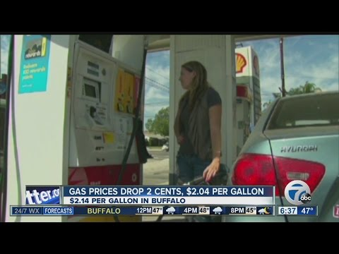 Gas Prices Drop Nationally, Rise In NY State