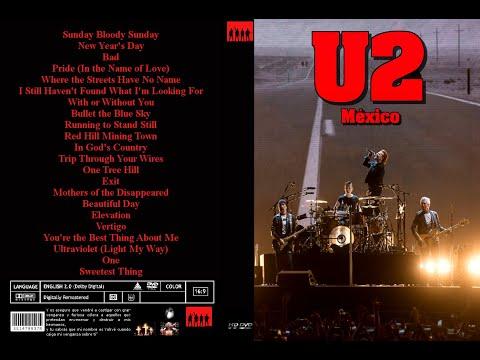 U2 Pride In the Name of Love Mexico 2017