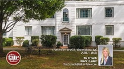 Home for Sale -- 1700 N Elm St #C3, Greensboro NC -- Tia Crouch