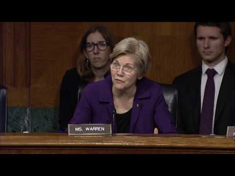 Senator Elizabeth Warren at Aging Committee Hearing on Alzheimer