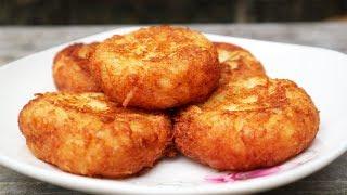 Làm Bánh Sắn Nước Cốt Dừa Chiên Ăn Chơi - How to make Tapioca