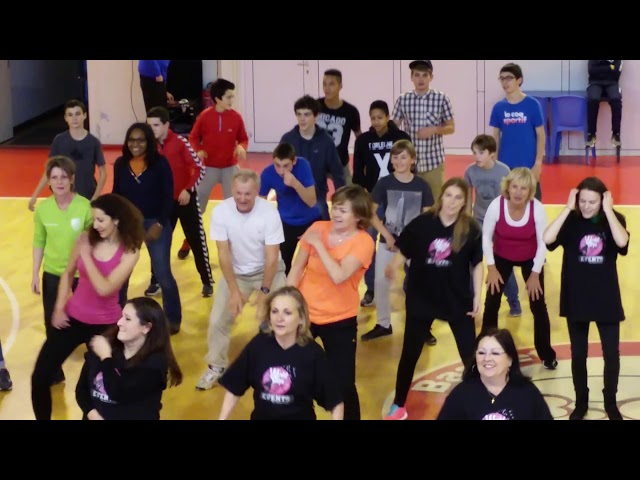 Flash Mob Telethon 2015  EMHB