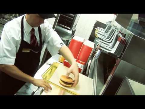 First days at McDonald's recruitment ad - EN subs [První dny v McDonald's]