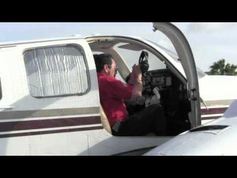 Volando el Beechcraft Baron