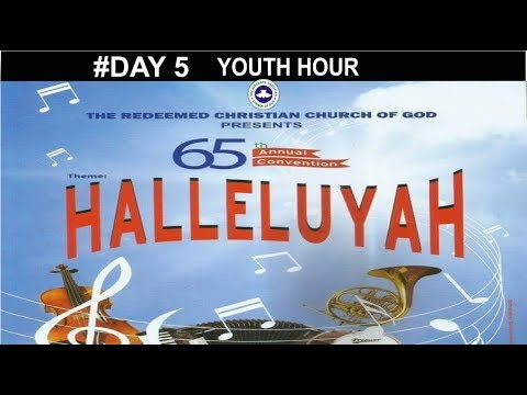Youth Hour_ RCCG 65th ANNUAL CONVENTION 2017_ #Day 5