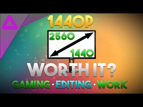 Is 1440p Worth It? ~ Gaming, Editing & Work Review ~ What's The Difference?