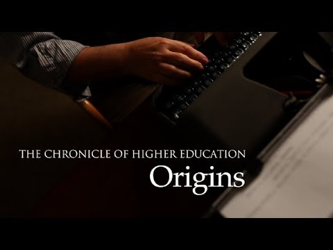 The Chronicle of Higher Education: Origins